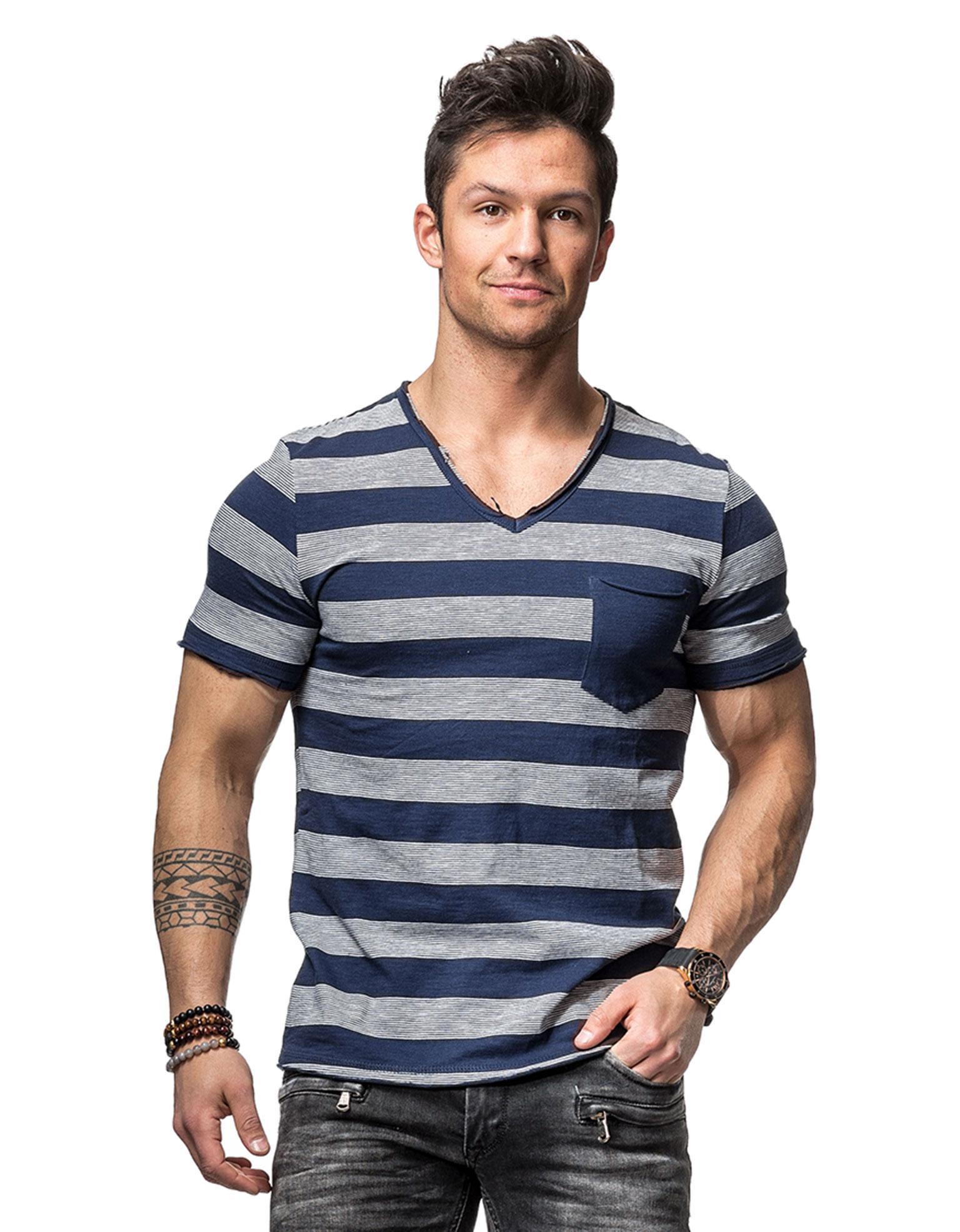 yandyed blue tom tailor 6814 t shirts